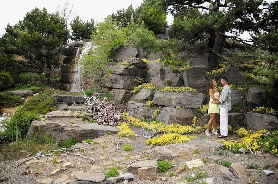 Nancy souli re et yannick gu nard au jardin botanique de for Jardin botanique montreal tarif