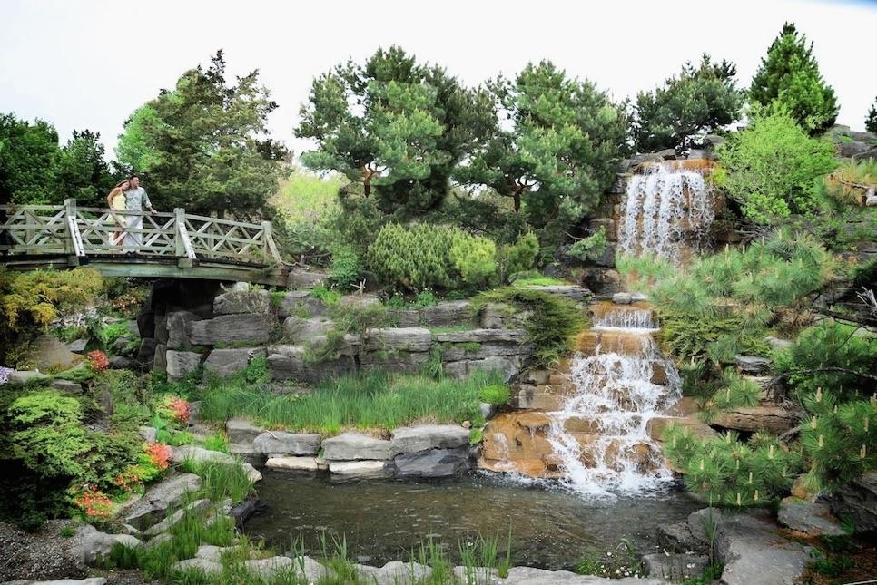 Nancy souli re et yannick gu nard au jardin botanique de for Jardin botanique nancy