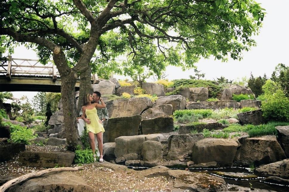 Nancy souli re et yannick gu nard au jardin botanique de for Amis jardin botanique