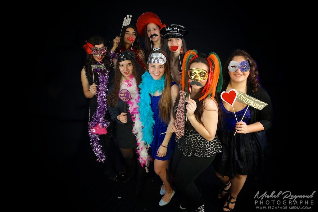 photobooth en groupe