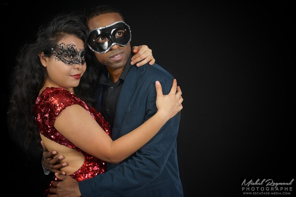 couple amoureux photobooth