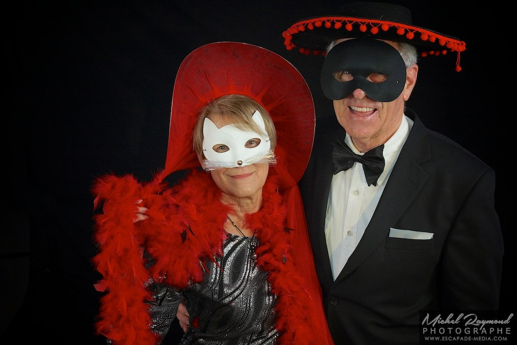 masque photo booth