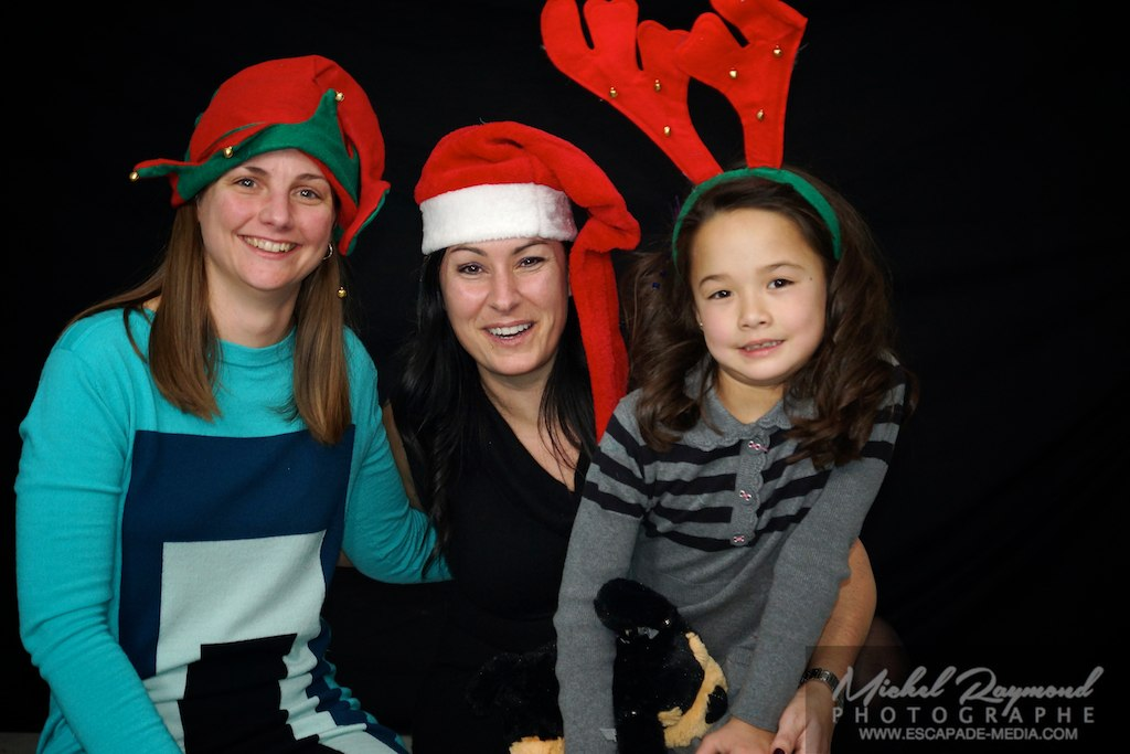 photo avec tuque de noel