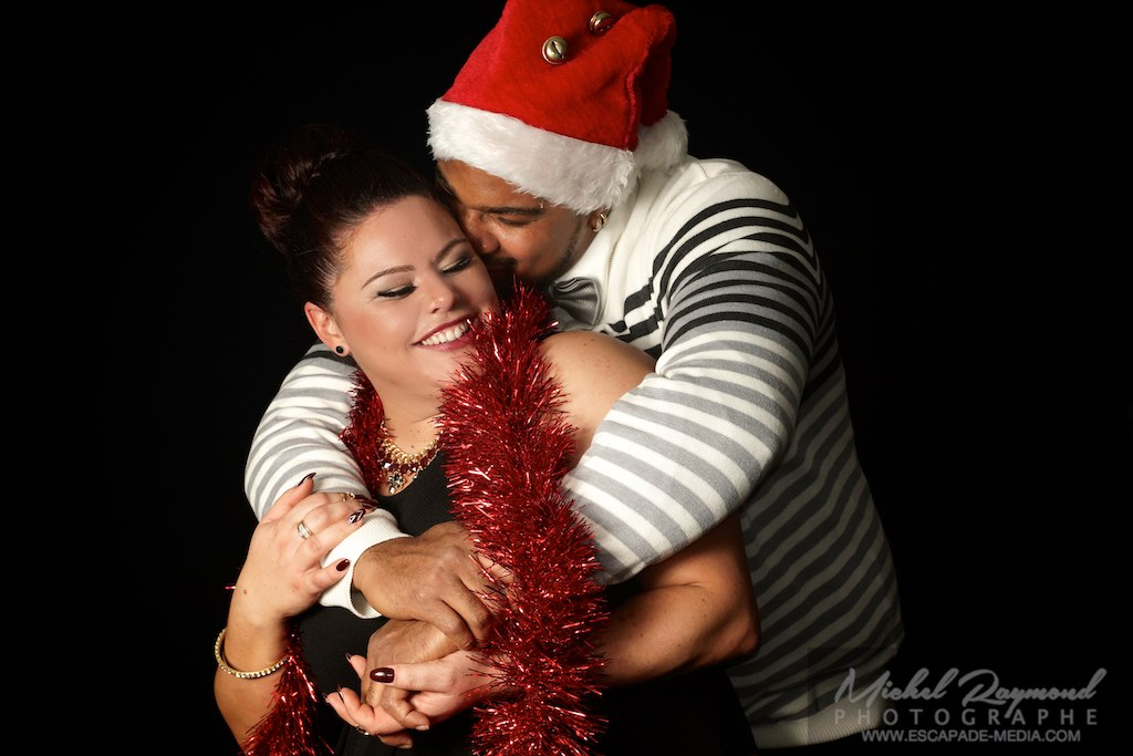 photo-studio-couple-thème-Noël