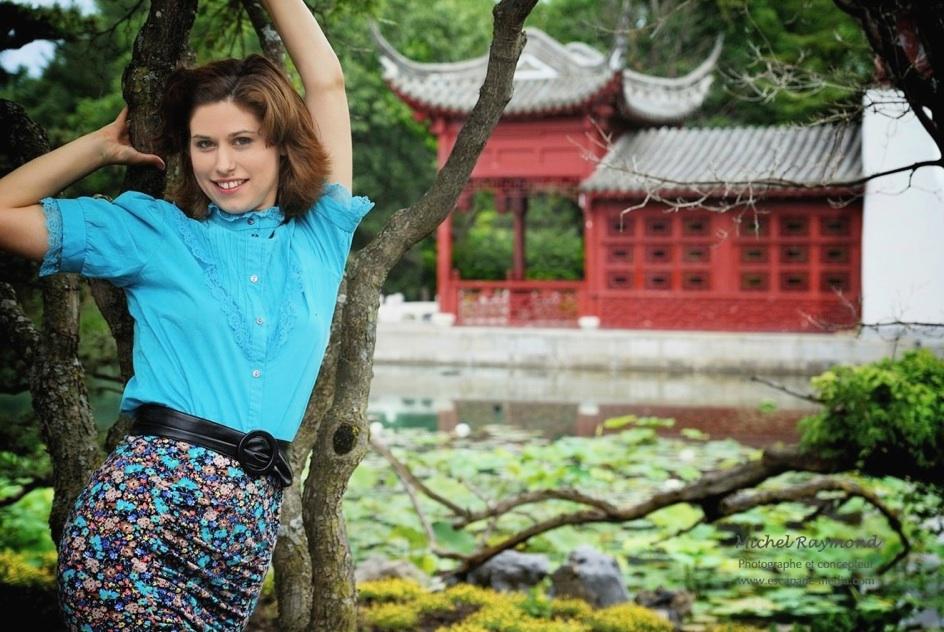 S ance photo avec julie demers au jardins botanique de for Au jardin st michel pontorson
