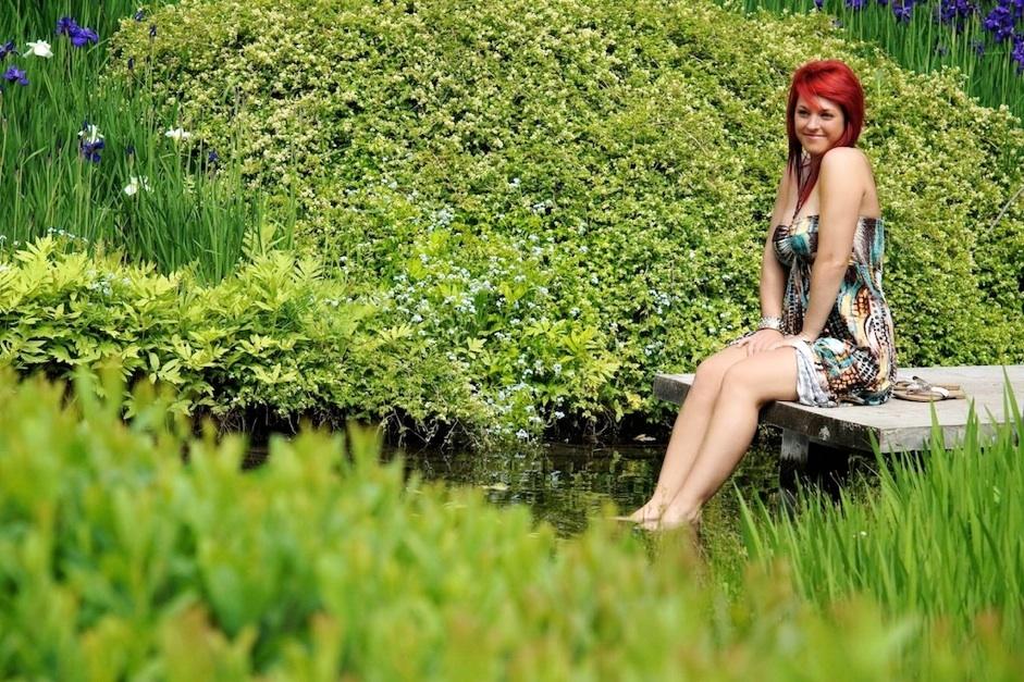 Jardin botanique de montr al s ance photo avec st phanie for Au jardin de sylvie