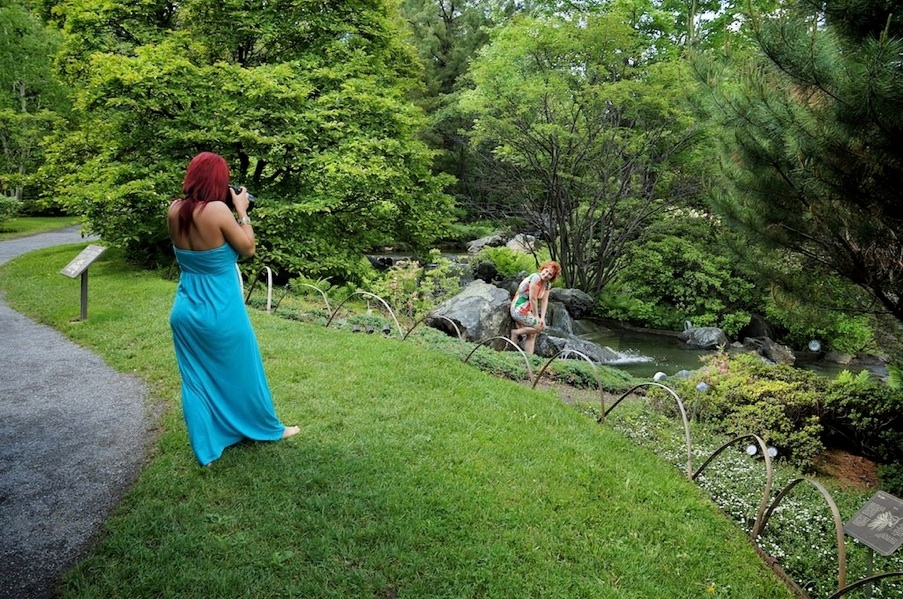 Photograpge d 39 un jour avec st phanie et sylvie au jardin for Jardin botanique montreal tarif
