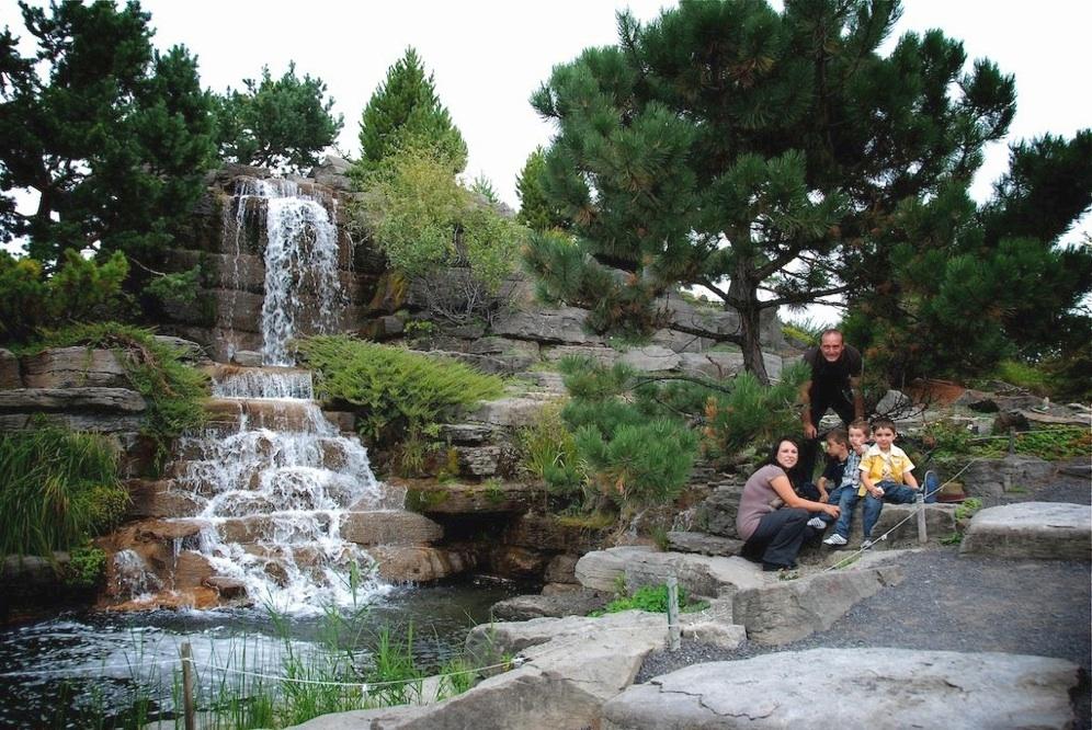 Shooting en famille au jardin botanique de montr al for Au jardin de la famille de fabreville