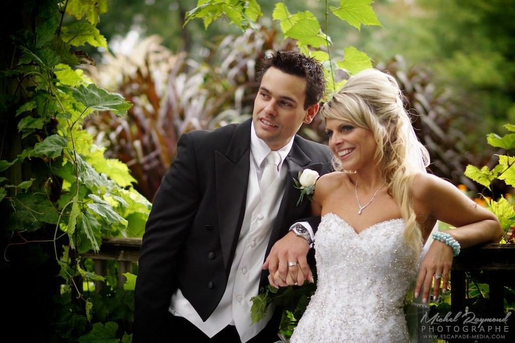 Photos de mariage au jardin botanique de montr al for Au jardin wedding