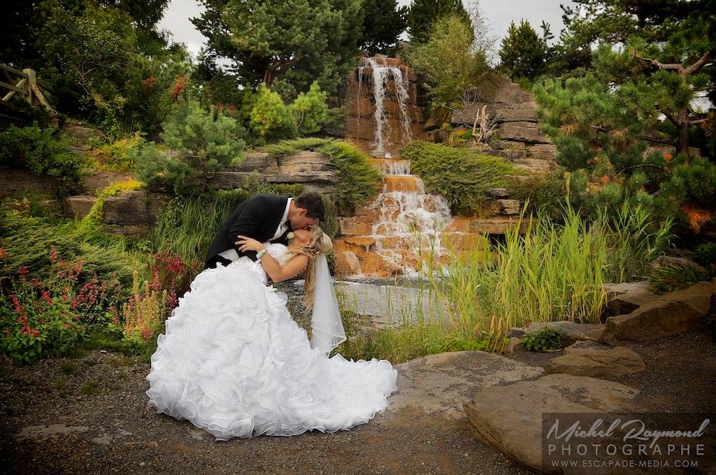 Photos de mariage au jardin botanique de montr al - Jardin interieur montreal colombes ...