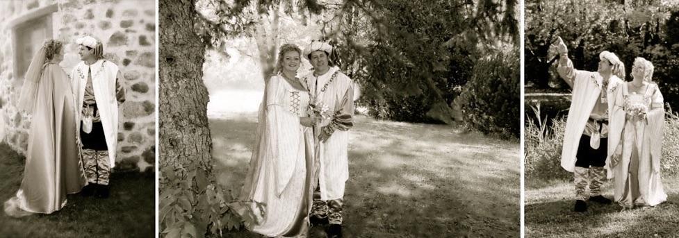 Photo de Mariage médiéval de Micheline et Claude