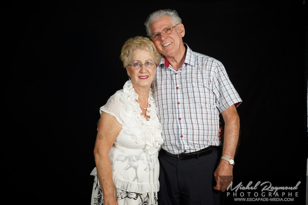 photo studio avec grand parent