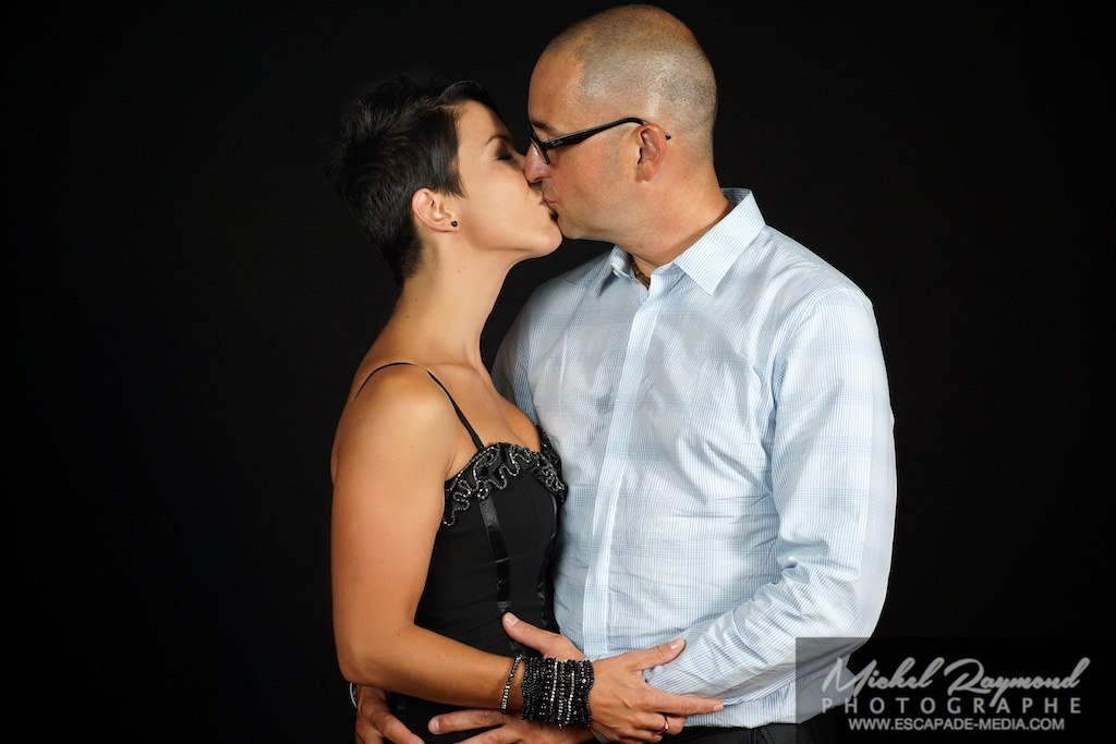 session de studio couple qui s