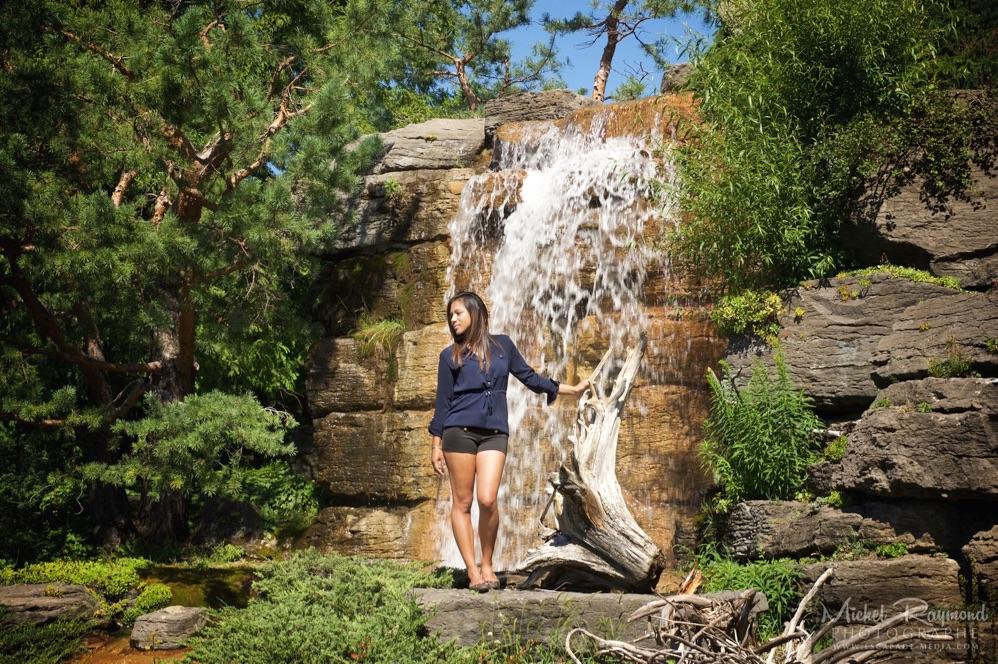 Seance photo avec mirana jardin botanique de montreal for Au jardin de fanny montreal
