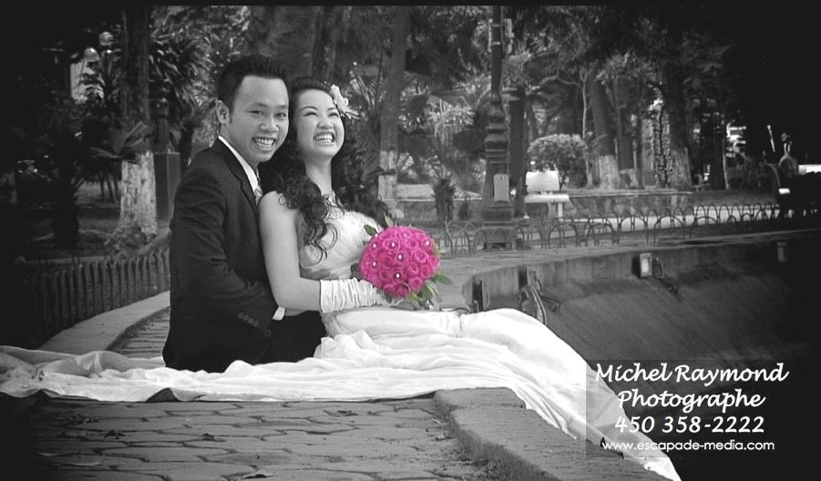 photo couple marié vietnamien